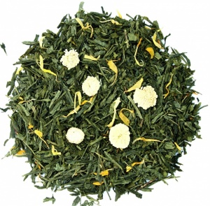 Sencha with Camomile flavoured tea