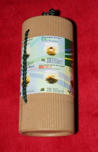 Blooming China Tea tube