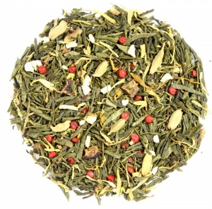 Winter Rhapsody Green Sencha tea